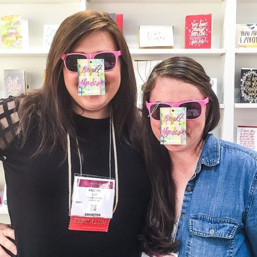 Kristen Ley of Thimblepress : @ 2015 National Stationary Show NY, NY
