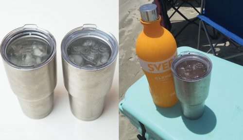 Comparing yeti knockoff in the hight of summer - Karst wins!